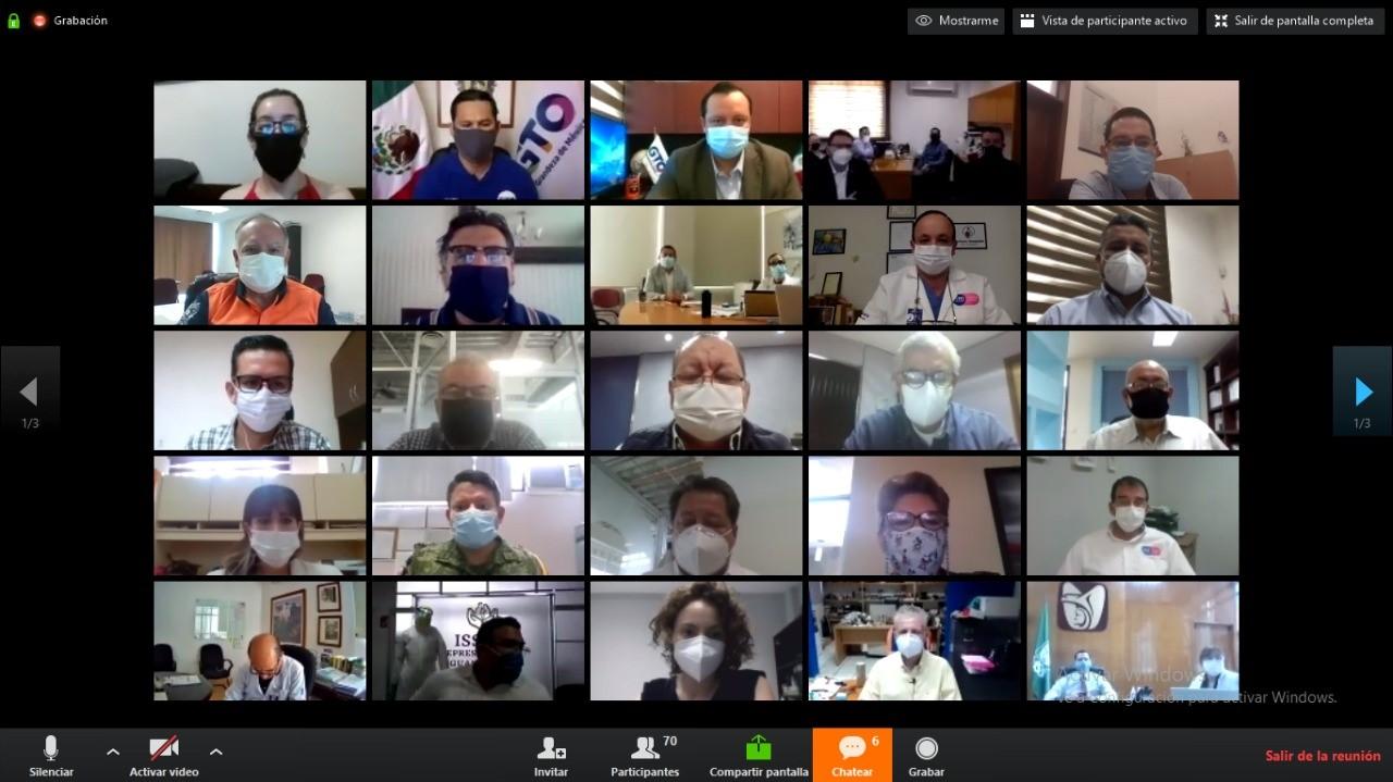 Llama Diego Sinhue a población atender medidas para cortar contagios de Covid-19