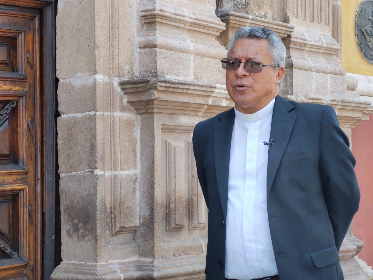 Pide Rector de la Basílica apoyar Cocinas Solidarias en la Capital