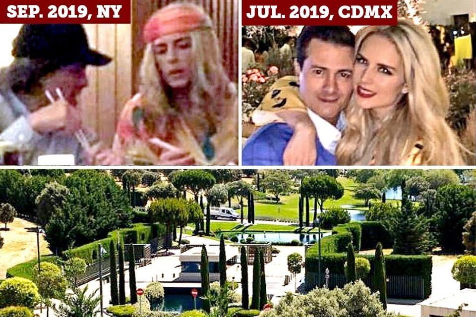 Peña Nieto vive en España entre el amor y su libro