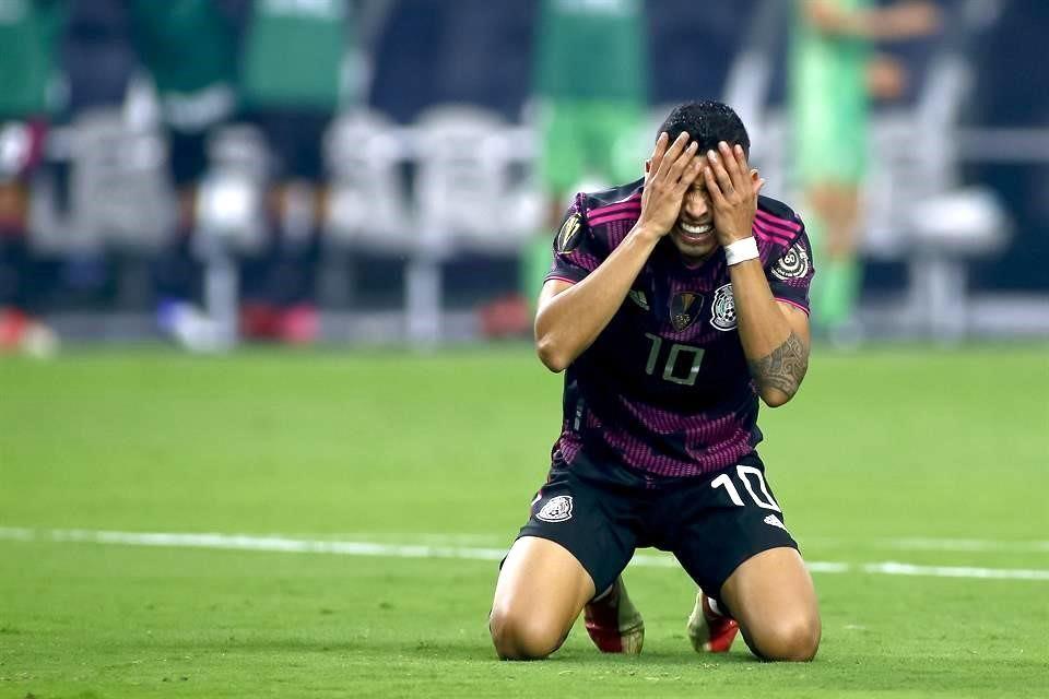 Y la historia se repite, muestra México incapacidad y pierde final de Copa Oro ante EU